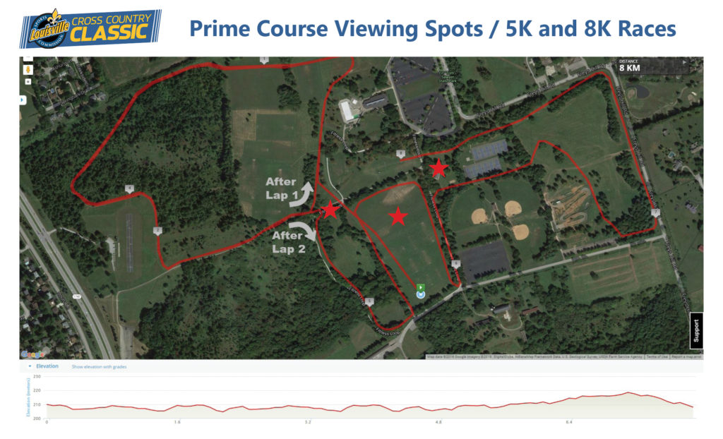 Map - Prime Viewing Spots
